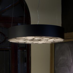 LZF Spiro 6-Light Drum Pendant
