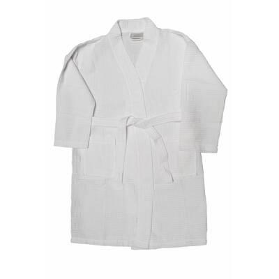 bc54b64659 Bare Cotton Kimono Cotton Blend Waffle Bathrobe