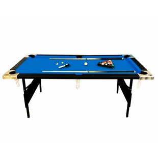 Best Price 6' Pool Table with Portable Snooker Accessories By Simba USA Inc