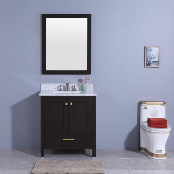 Winston Porter Sammons 31 Single Bathroom Vanity Set With Mirror