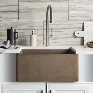 24 L x 18 W Farmhouse Kitchen Sink by Native Trails, Inc.