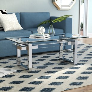 Clark Coffee Table with Tray Top