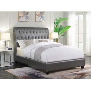 Lomba Upholstered Panel Bed by Rosdorf Park