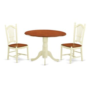 Spruill 3 Piece Drop Leaf Dining Set