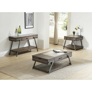 Goyette 3 Piece Coffee Table Set By Williston Forge