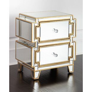 Marylhurst 2 Drawer Nightstand (Set of 2)