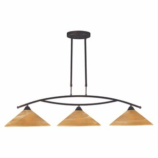 World Menagerie Beecroft 3-Light Kitchen Island Pendant