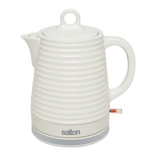 1.2 Qt. Ceramic Cordless Electric Tea Kettle