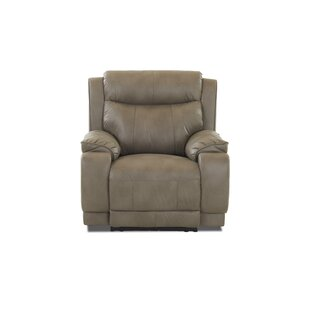 Best  Rutz Power Recliner Charlton Home