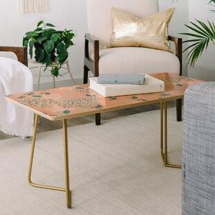 East Urban Home Iveta Abolina Camellia Garden Coffee Table