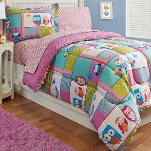 Zoomie Kids Han Owl Reversible Comforter Set