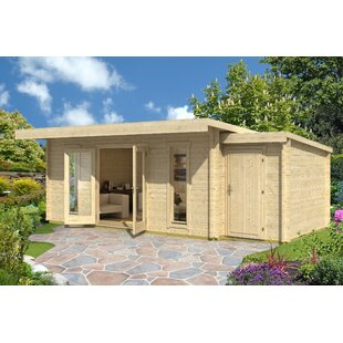 Extension 2600 5 Ft. W X 9 Ft. D Tongue And Groove Pent Wooden Bike Shed By Lasita Maja