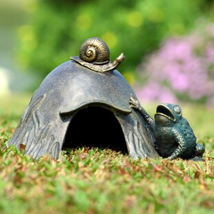 SPI Home Toad House with Snail Statue