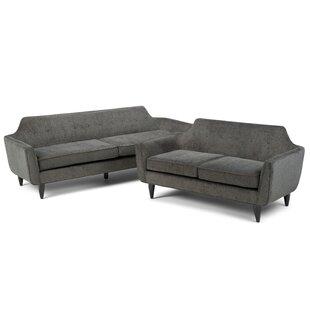 Simpli Home Davis Configurable Living Room Set