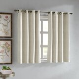 Short Bedroom Window Curtains | Wayfair