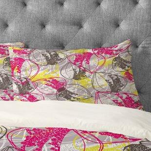Rachael Taylor Retro Leaves Pillowcase