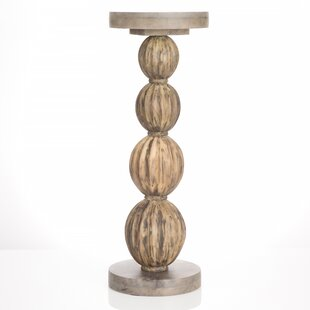 Stacked Gourd End Table