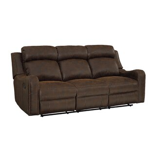 Candida Track Arms Reclining Sofa by Williston Forge