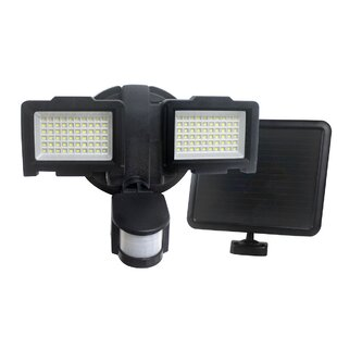 Security Lighting LED Solar Powered Battery Operated Outdoor Flood Light with Motion Sensor