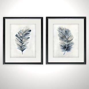 3d4837340826 Soft Feathers Framed Print Set