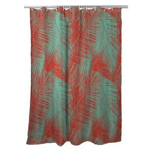 Kroll Palm Breeze Single Shower Curtain