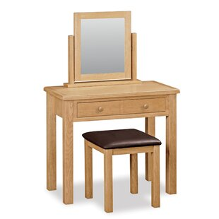 Ezio Dressing Table Set With Mirror By Gracie Oaks