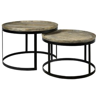 Holder Mango Wood 2 Piece Cocktail Tables