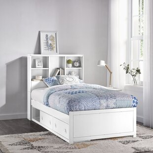 Body Caspian Twin Mate's & Captain's Bed with Drawers and Bookcase by Harriet Bee