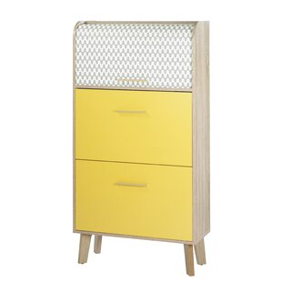 Caruso 18 Pair Shoe Storage Cabinet By Norden Home