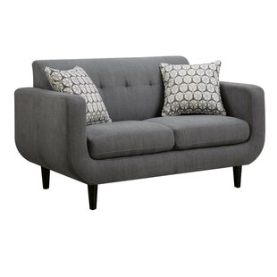 Bottom Modern Loveseat by George Oliver