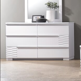 Ellisburg 6 Drawer Double Dresser