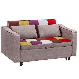 Fletcher 2 Seater Fold Out Sofa Bed By Mercury Row