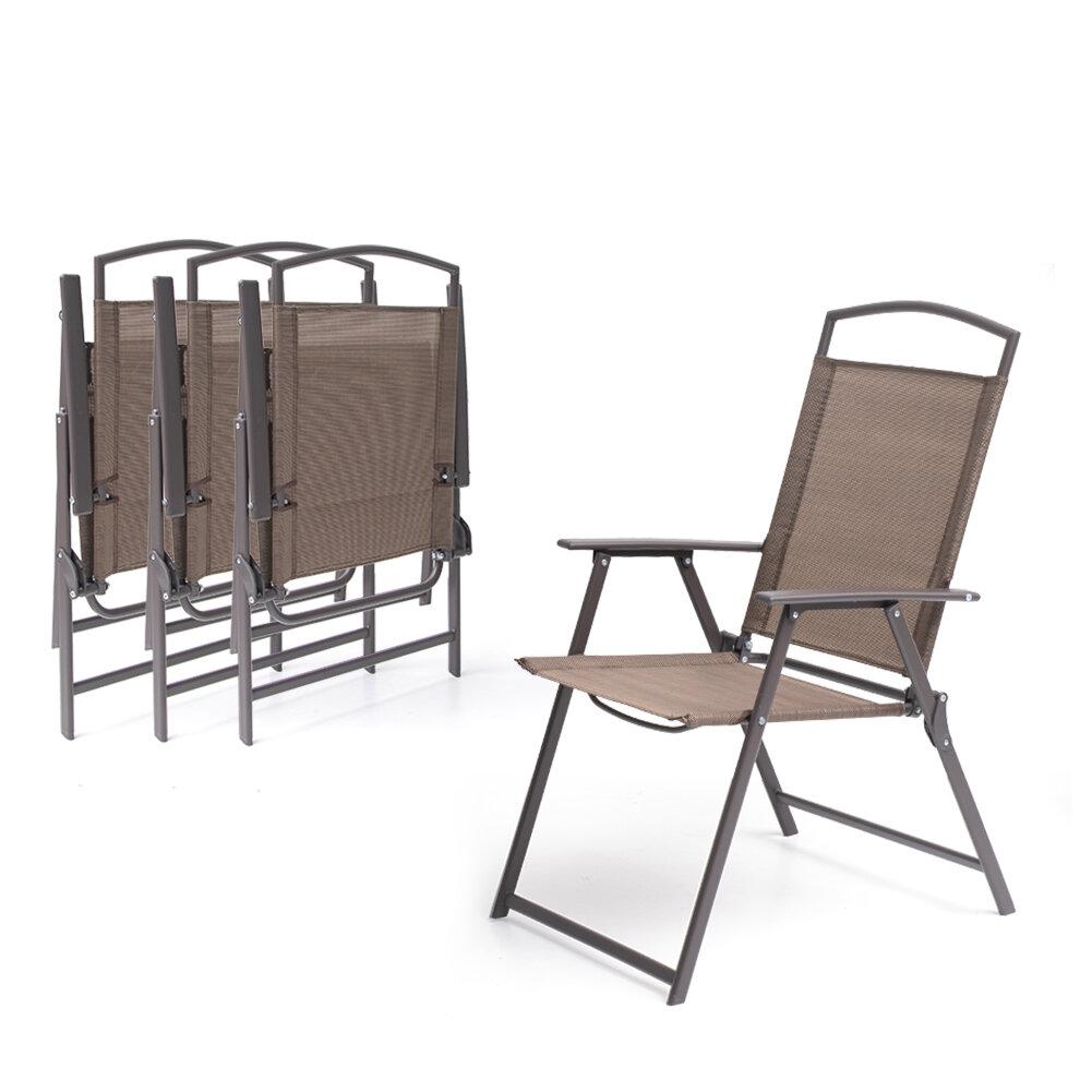 Latitude Run Spooner Folding Patio Dining Chair & Reviews | Wayfair