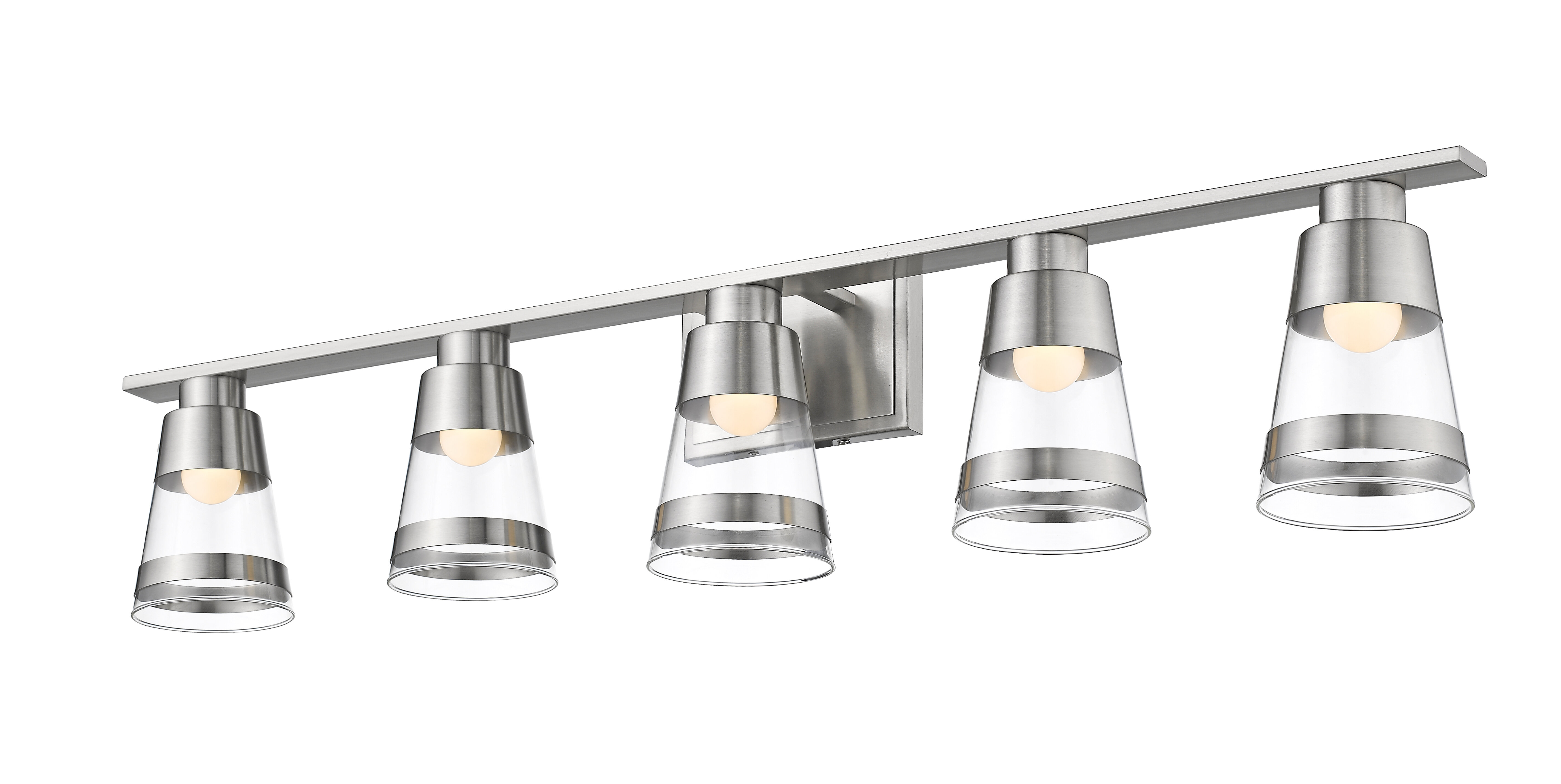 Breakwater Bay Jacey 5 Light Led Vanity Light Wayfair