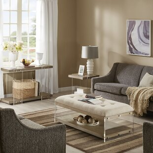 Crume 3 Piece Coffee Table Set