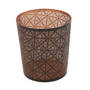 Cole & Grey Metal Waste Basket