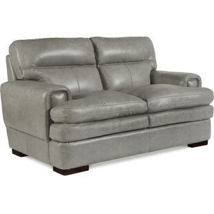Jake Leather Loveseat