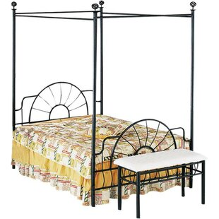 Best Price Moyer Metallic Rail Bed by August Grove Reviews (2019) & Buyer's Guide