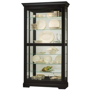 Darby Home Co Bremer Lighted Curio Cabinet