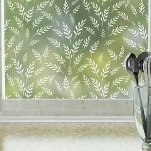 Wild Oats Privacy Window Film by Stick Pretty
