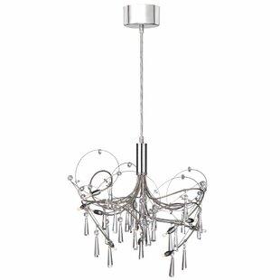 Modern contemporary raindrop crystal chandelier allmodern rosenstein 10 light crystal chandelier aloadofball Gallery