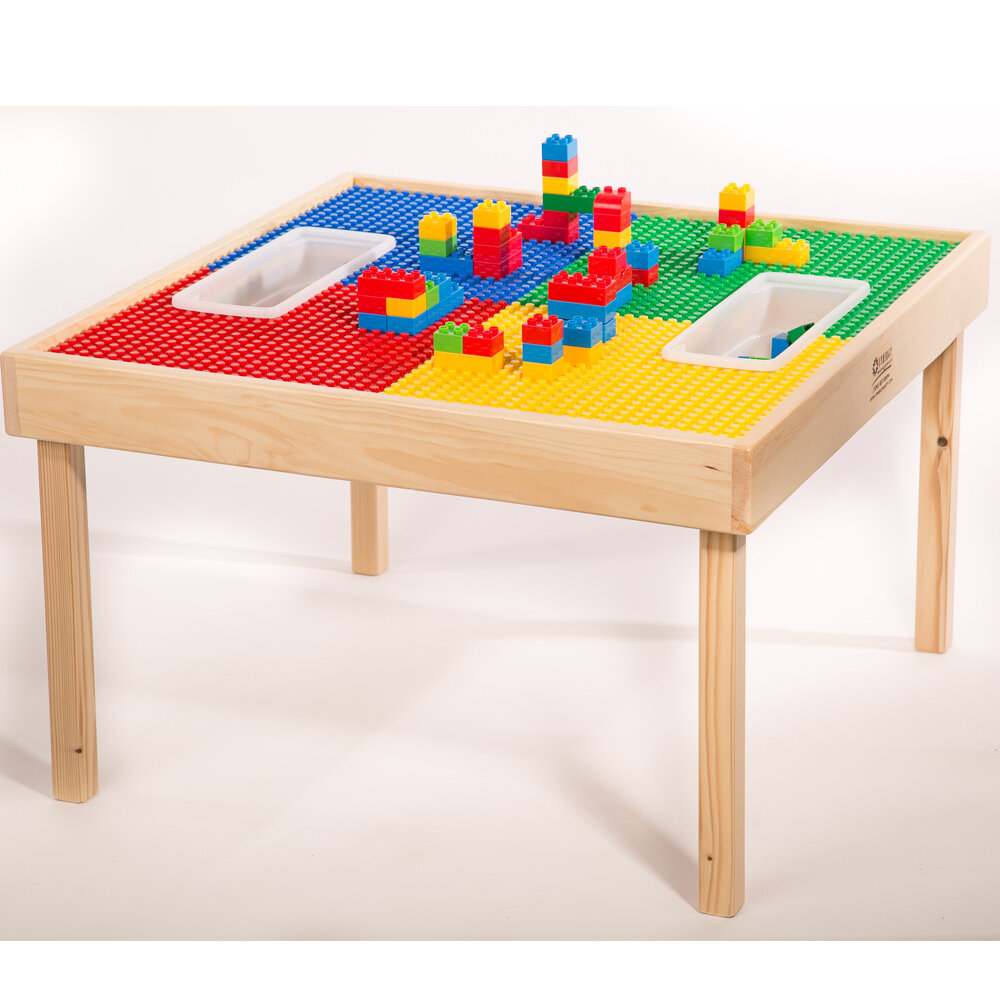 Activity Kids Square Lego Table