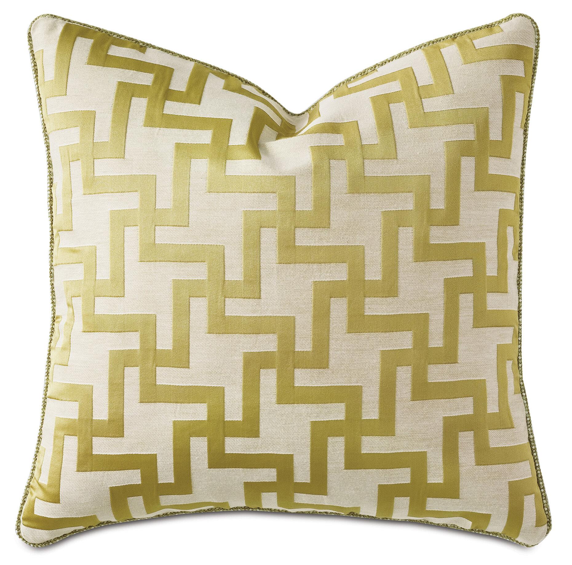 Eastern Accents Alexa Hampton Maude Citrine Decorative Throw Pillow Wayfair