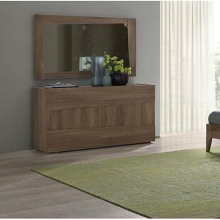 Luther 3 Drawer Dresser with Mirror