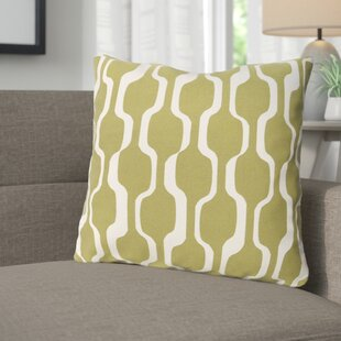 Arsdale Graphic Print Woven Cotton Throw Pillow