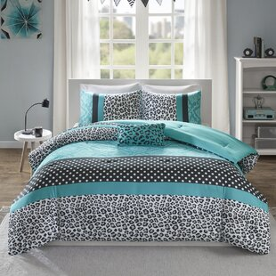 Leopard Print Comforter Set Wayfair
