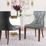 Sutherland Upholstered Dining Chair (Set of 2) by House of Hampton®