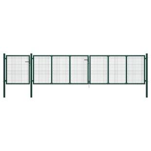 Adami Garden 13' X 7' (4m X 2.25m) Metal Gate By Sol 72 Outdoor