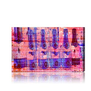 Cristal on Crystal Rose Graphic Art on Wrapped Canvas