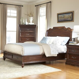 American Woodcrafters Signature Storage Platform Bed